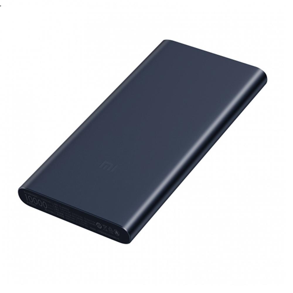 Carregador Portátil Xiaomi 2S, 10.000mAh, Saída 5.1V/2.4A, Preto – XM258PRE