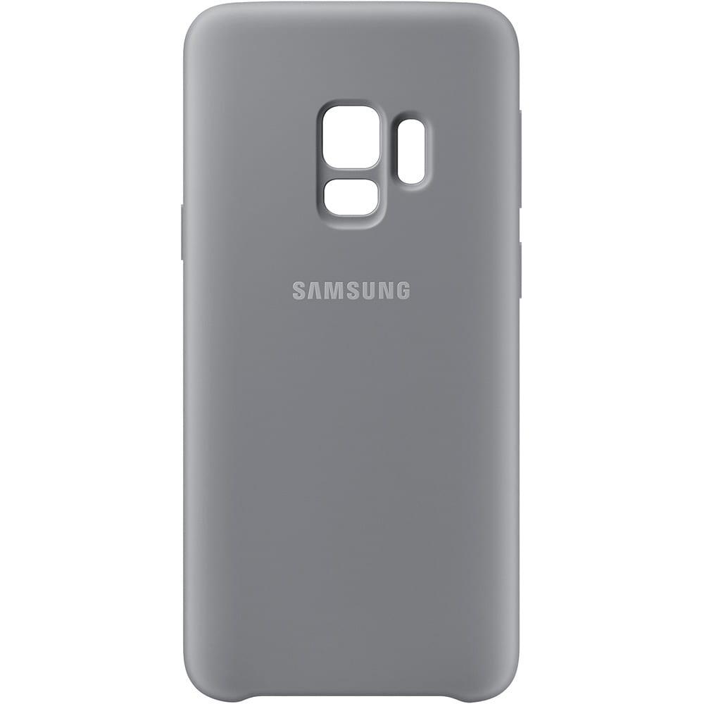 Capa para Celular Samsung S9 Silicone Cover – Cinza