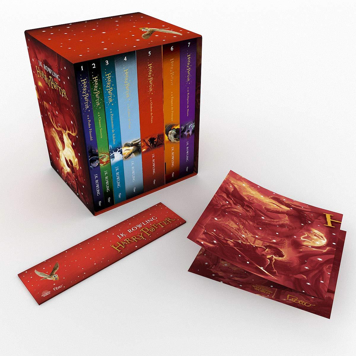 Caixa Harry Potter – Edição Premium + Pôster Exclusivo Capa comum – Conjunto de caixa, 20 junho 2017